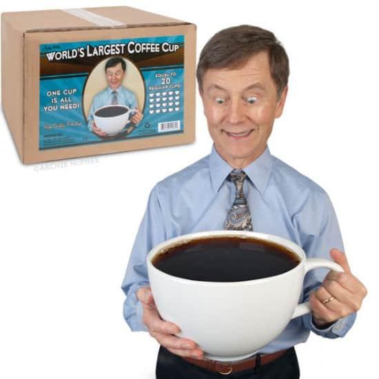 Самая большая кофейная чашка в мире