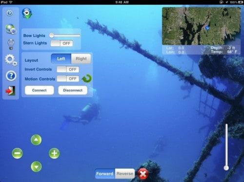 Подводная субмарина Hydroview