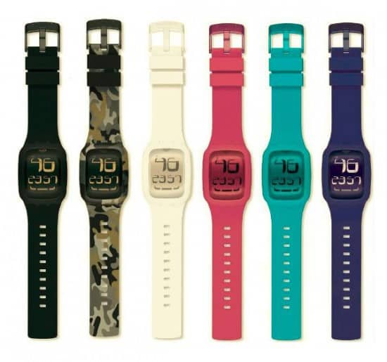 Часы с сенсорным экраном Swatch Touch
