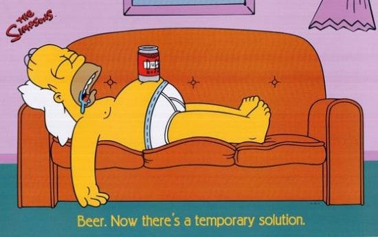 Упаковка пива Duff