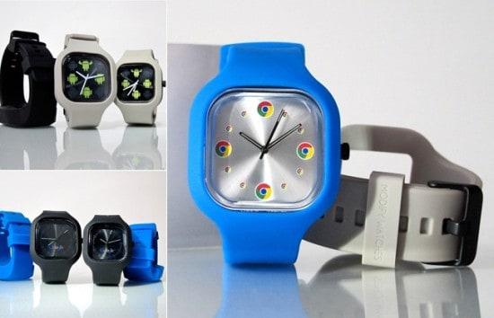 Часы в стиле Google Chrome Watch Set