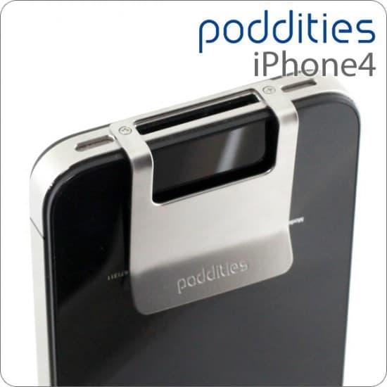 Металлическая клипса for iPhone 4S/4