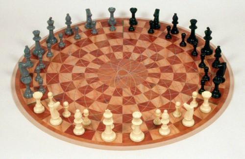 Шахматы для игры втроём