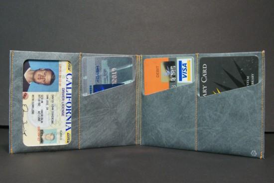 Ультратонкий мужской бумажник SlimFold с оригинальным принтом