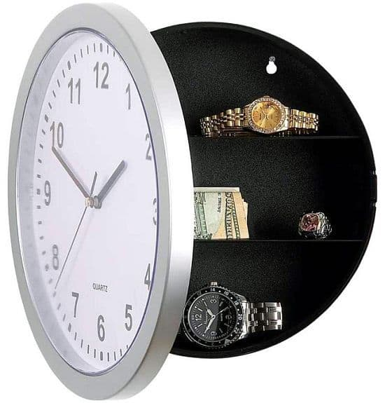 Embassy Wall Clock Safe