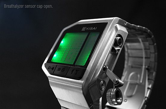 Kisai Intoxicated LCD Watch