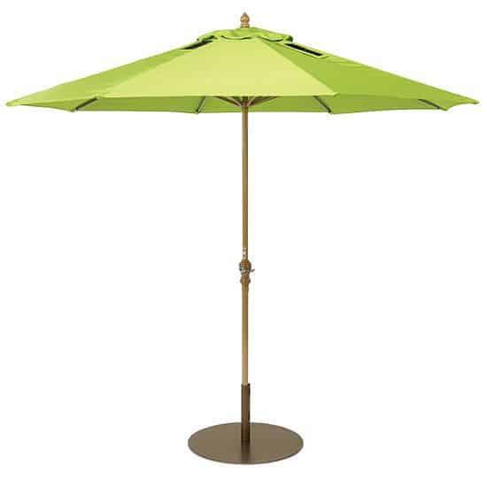Market umbrella with solar panels