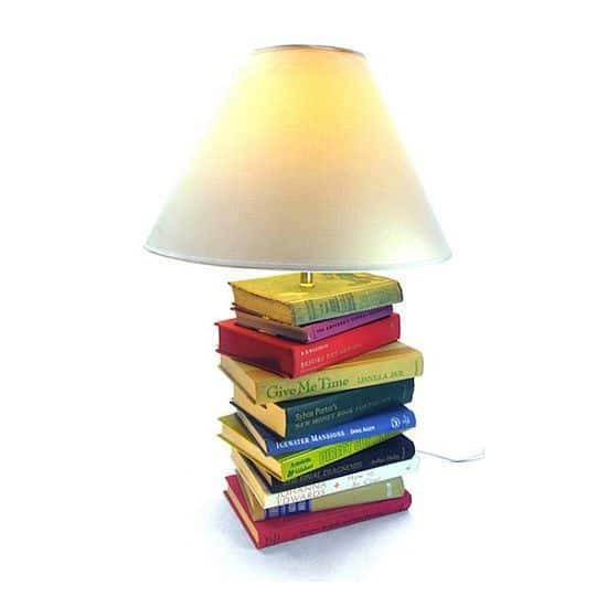 Custom Book Lamp