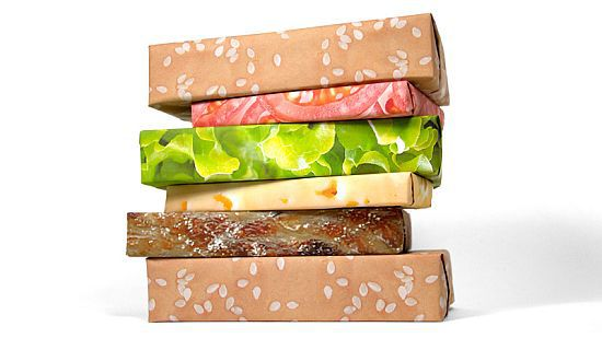 Gift Couture Steak Wrapping Paper