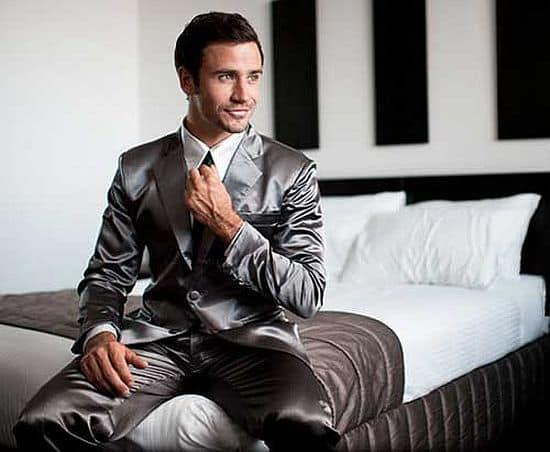 Premium Grey Suitjamas