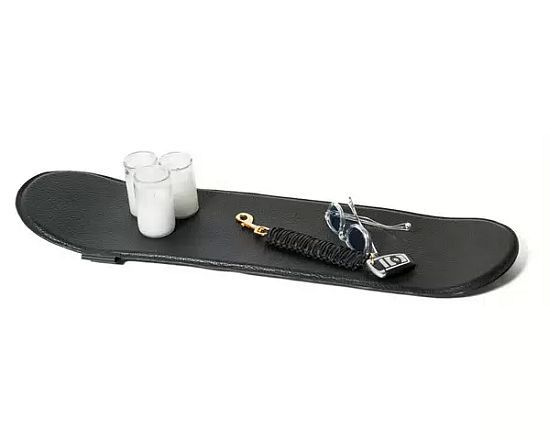 Buscemi's Leather Skateboards