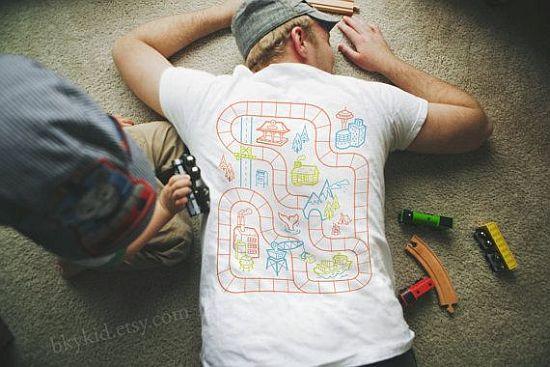 Car Play Mat T-Shirt