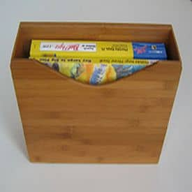 magnetic bamboo file box
