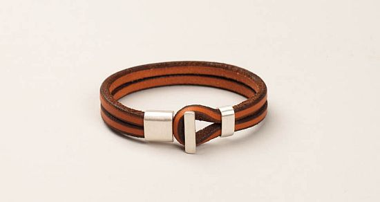 TANNER GOODS LEATHER WRISTBANDS