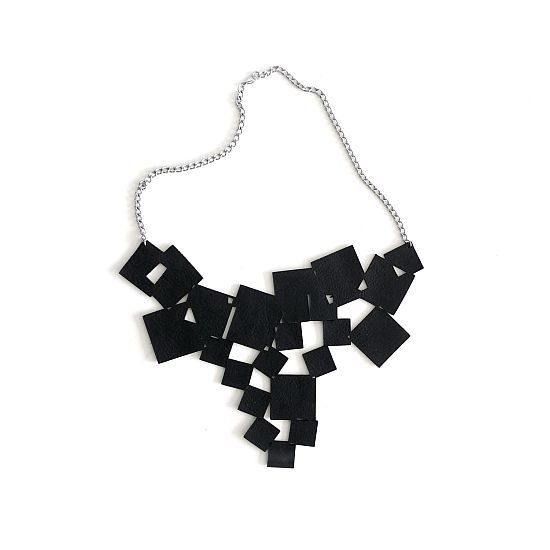 Tumbling Squares Necklace