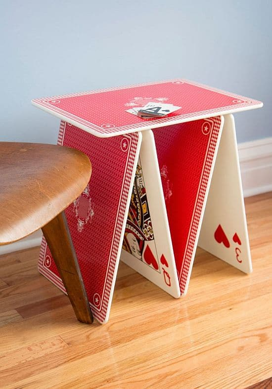 A La Card Table