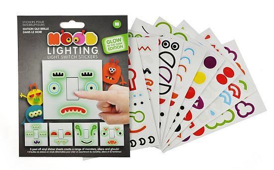 Dark Light Switch Stickers