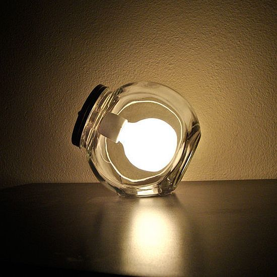 Modern Jar Lamp