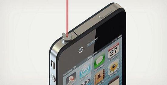 iPIN iphone laser pointer