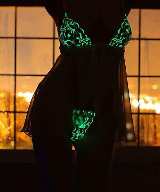LuminoGlow Glow-in-the-Dark Lingerie