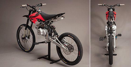 MOTOPED DIY MOTORIZED BIKE KIT