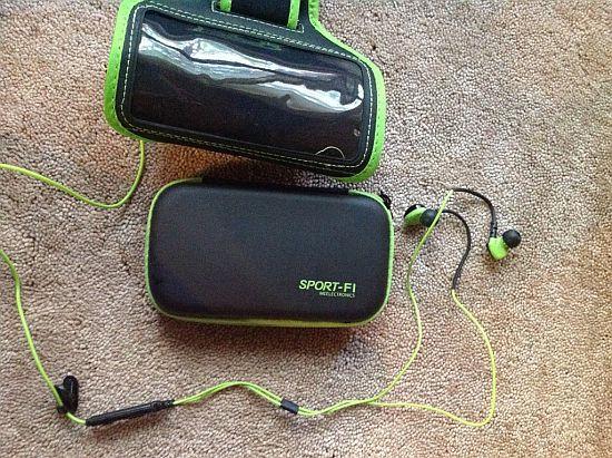 Sport-Fi S6P Noise Isolating Pro Sport In-Ear Headphones