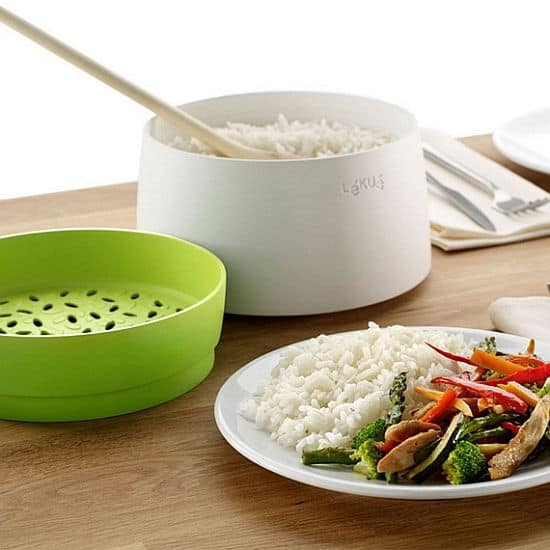 The Lekue Microwave Rice and Grain Cooker
