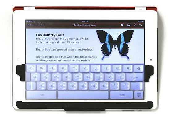 TouchFire A Feather Light iPad Keyboard