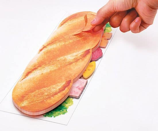 sliced eat sticky notes by marsmers