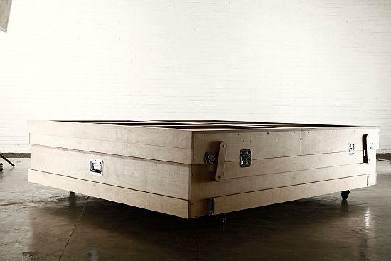 Double Bed by Naihan Li