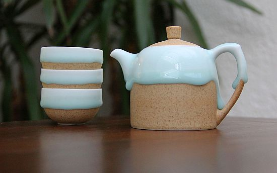 Glazedrop Tea Set