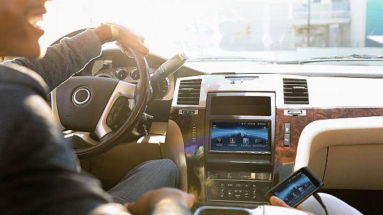 Sony In-Car Smartphone Cradle Receiver