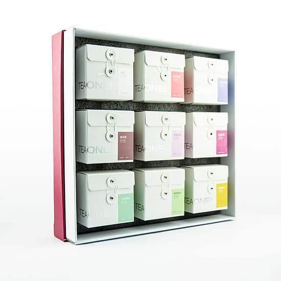 TeaOne - nine tea boxes gift set