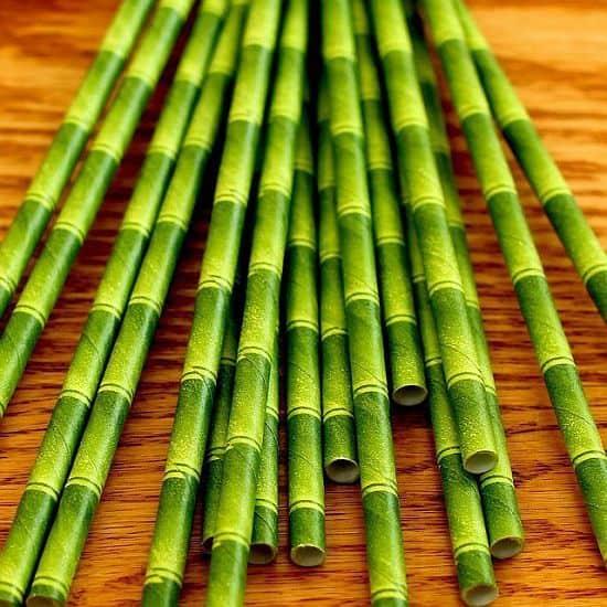 Tiki Paper Straws by Kikkerland