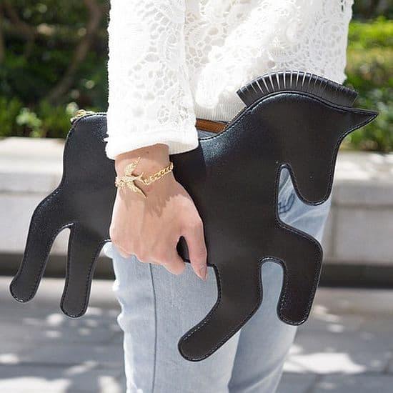 Unicorn Horse Clutch