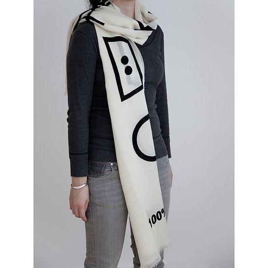 care label scarf