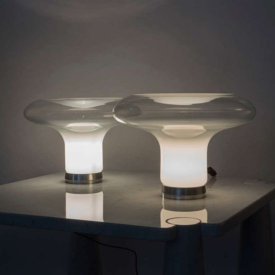 Artemide Lesbo Table Lamp by Angelo Mangiarotti