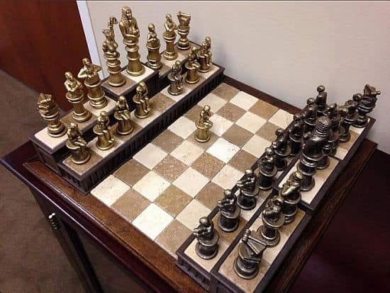 Barrister's Chess Set