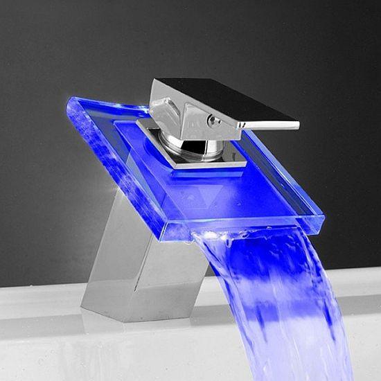 Temperature Sensitive LED Faucet