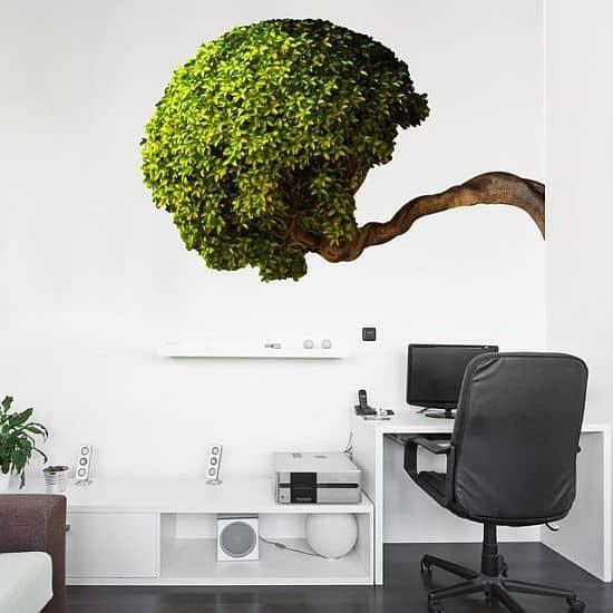 Bowing Tree Wall Decal by WallNeedLove