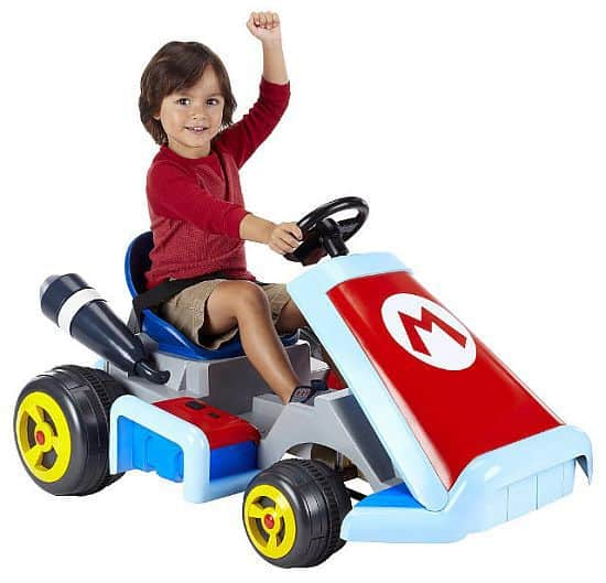 Electric Mario Kart Ride-On Kart For Kids