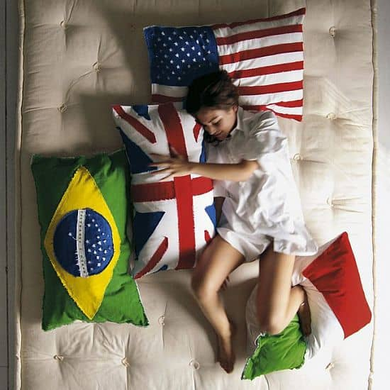 Flag Pillow Covers by Seletti