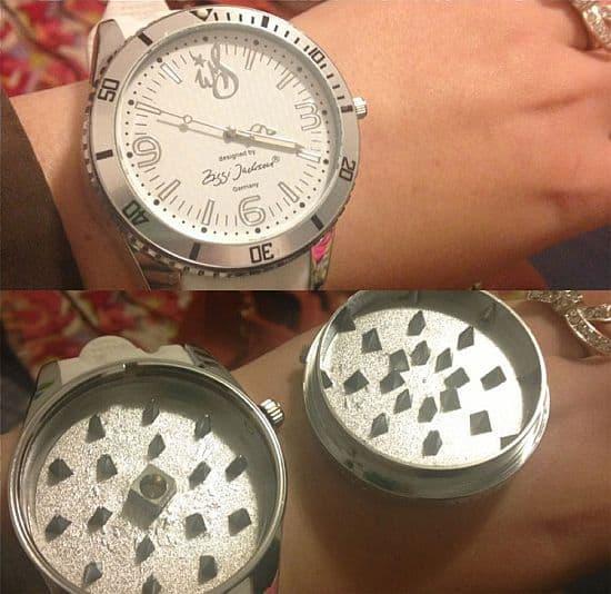 Herb Grinder Wrist Watch