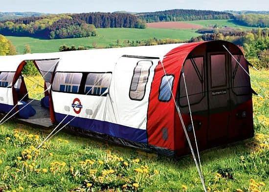 London Underground Tube Tent