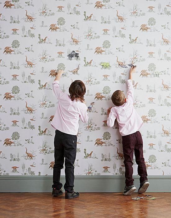 Magnetic Dino Wallpaper by Sian Zeng