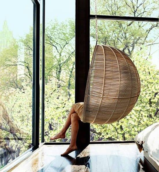 Rattan Hanging Ball Chair