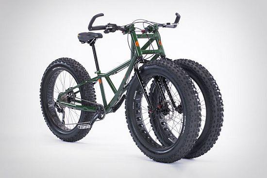 Fat Wheeled All Terrain Trike