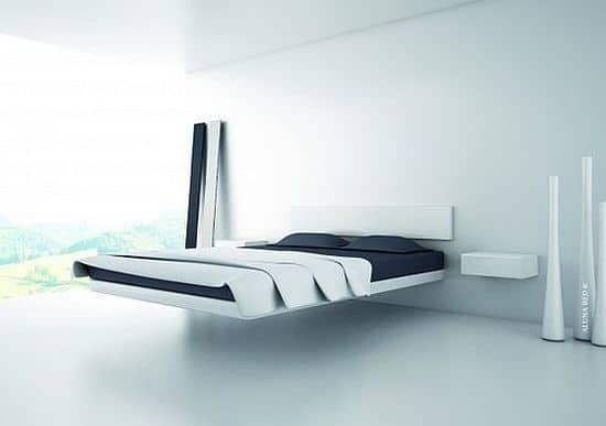 Fluttua Floating Bed by Daniele Lago