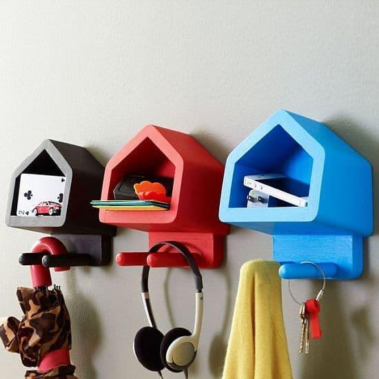 Happy House Shelves