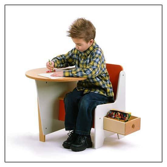 Offi Doodle Drawer Desk
